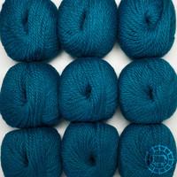 «Woolpack Yarn Collection» Baby Alpaka Bulky – Pfau