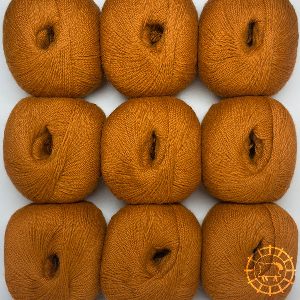 «Woolpack Yarn Collection» Baby Alpaca Fingering, Orange