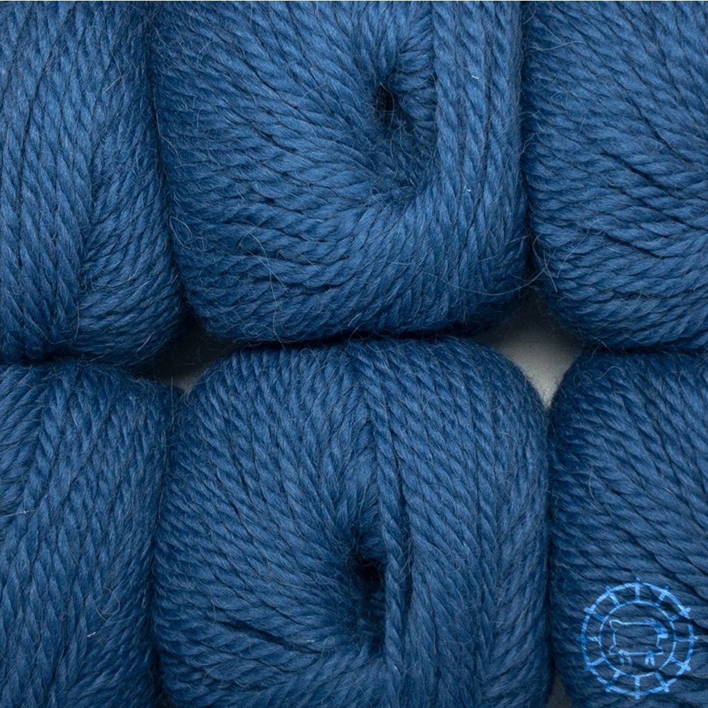 «Woolpack Yarn Collection» Baby Alpaka Bulky – Jeans