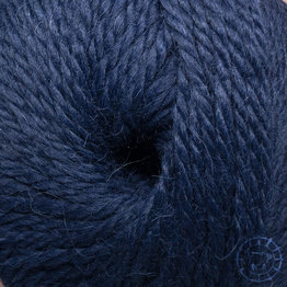 «Woolpack Yarn Collection» Baby Alpaka Bulky – Bleu nuit
