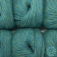 «Woolpack Yarn Collection» Baby Alpaca Bulky – Vert bleu