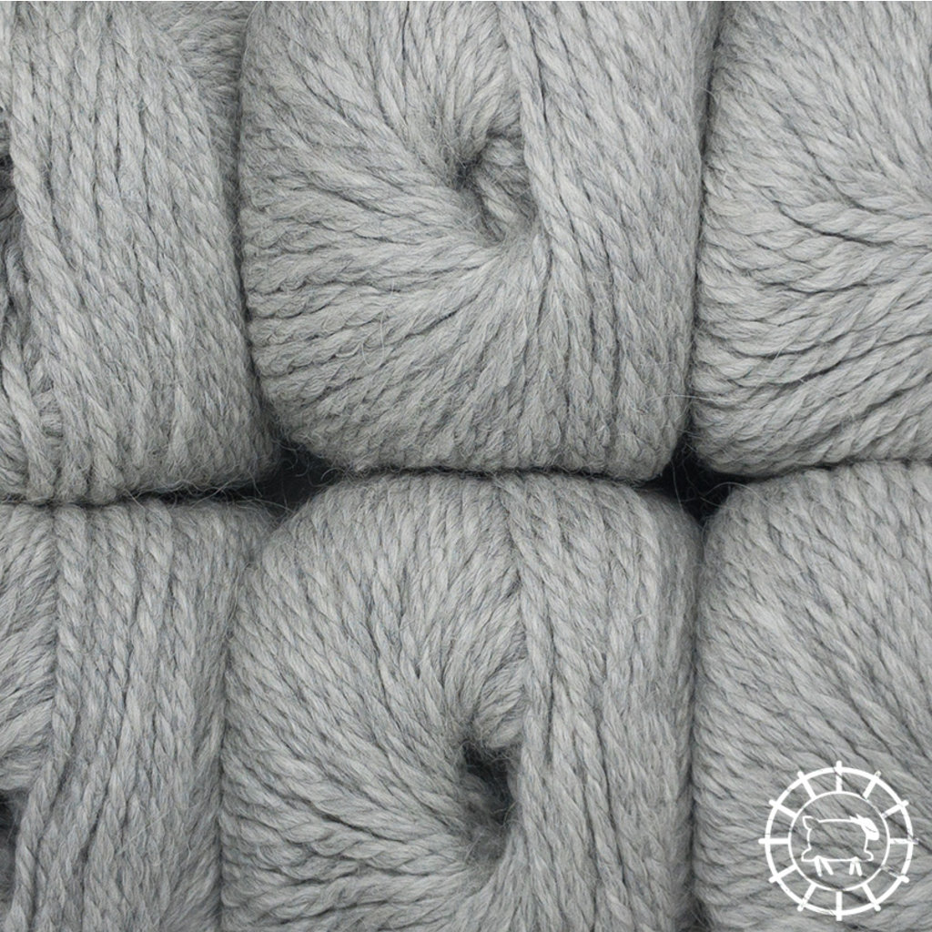 «Woolpack Yarn Collection» Baby Alpaca Bulky – Gris argent