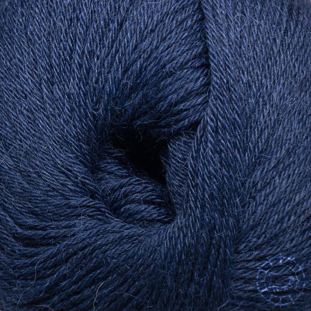 «Woolpack Yarn Collection» Baby Alpaka Socks – Nachtblau