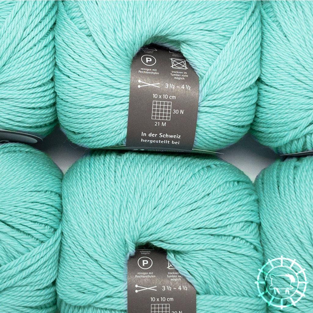 «Wollspinnerei Vetsch» Munja – Wassergrün