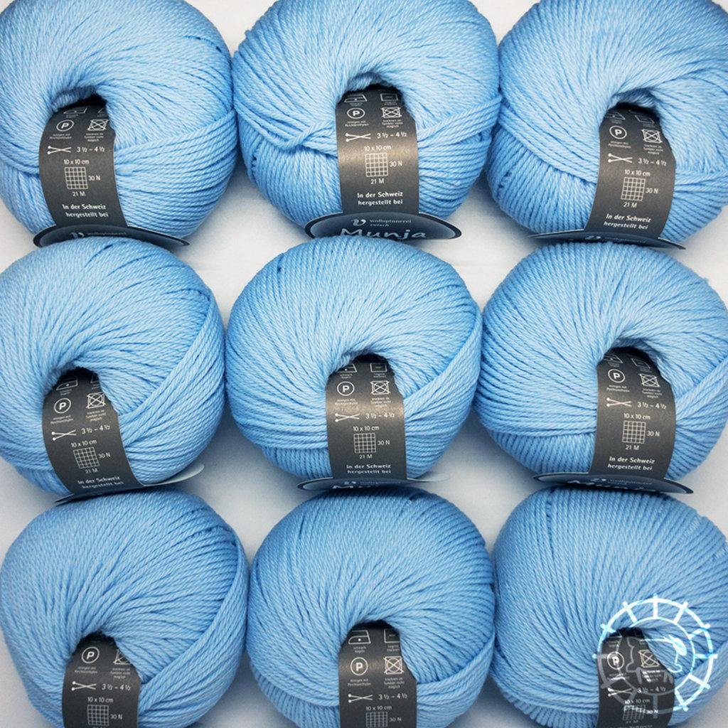 «Wollspinnerei Vetsch» Munja – Babyblau