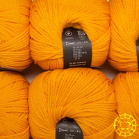 «Wollspinnerei Vetsch» Munja – Orange clair