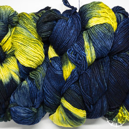 «Malabrigo Yarn» Merino Worsted – Lime Blue