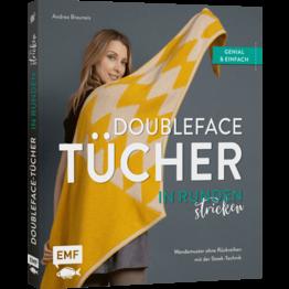 Doubleface-Tücher in Runden stricken – Andrea Brauneis