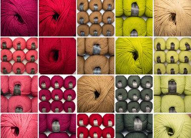 • Munja – laine mérinos bio, sans mulesing (lavable en machine) • Wollspinnerei Vetsch