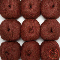 «Woolpack Yarn Collection» Baby Alpaka Bulky – Herbstlaub