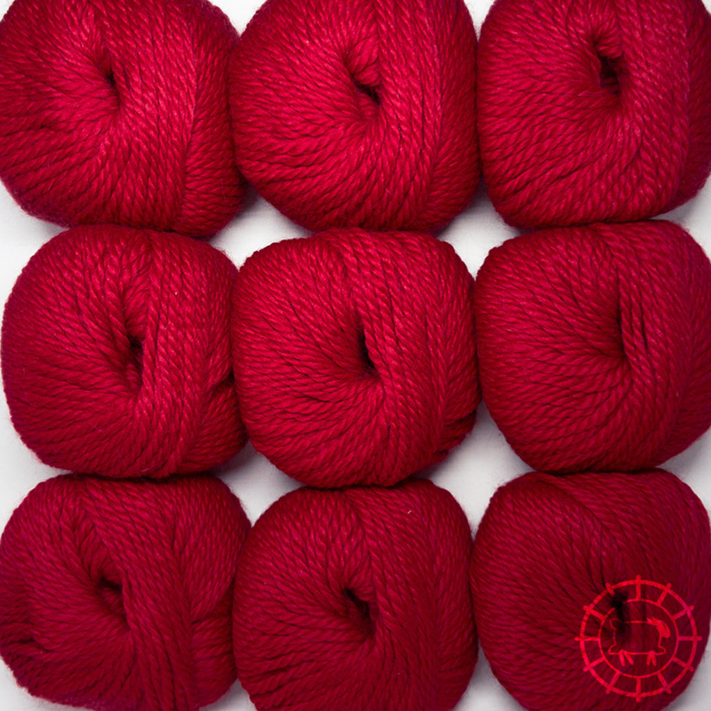 «Woolpack Yarn Collection» Baby Alpaka Bulky – Rouge