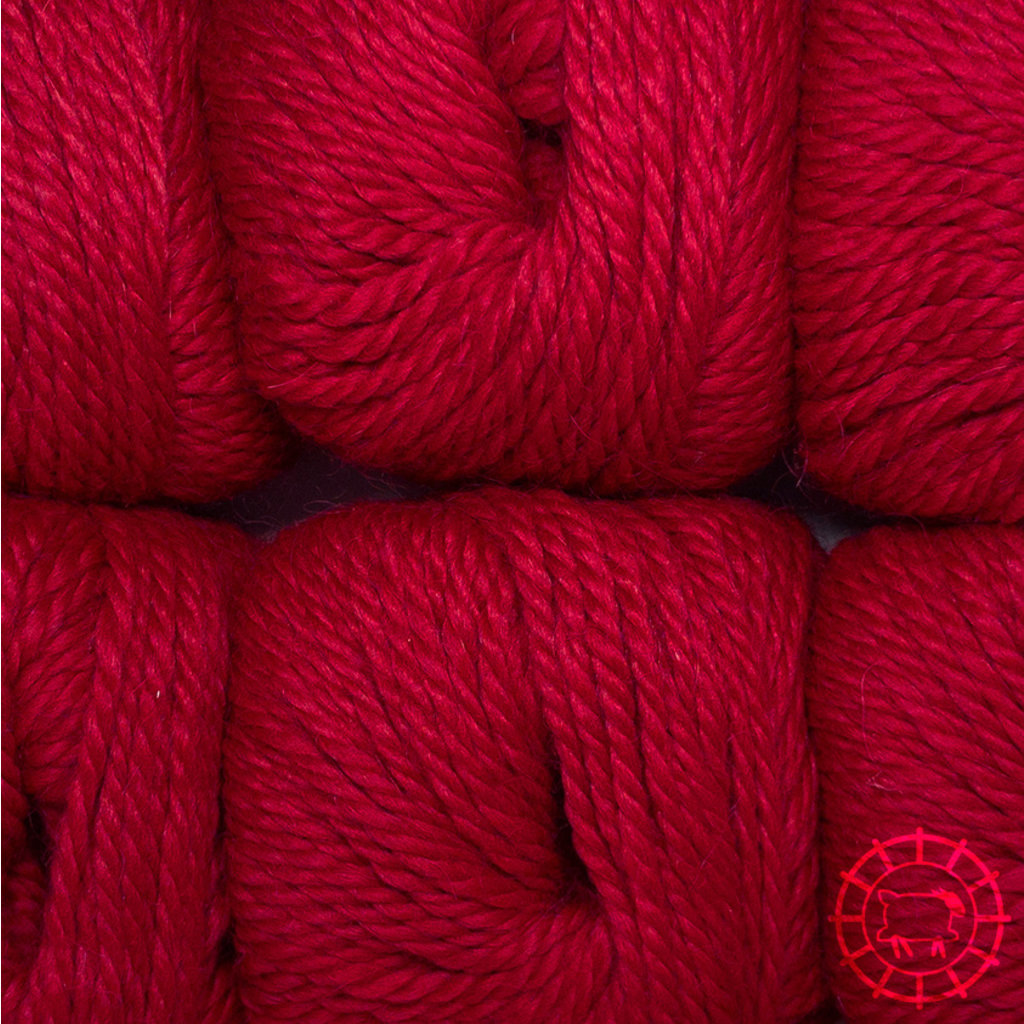 «Woolpack Yarn Collection» Baby Alpaka Bulky – Rot