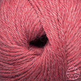 «Woolpack Yarn Collection» Baby Alpaca DK – Rouge pâle, colorisation limitée