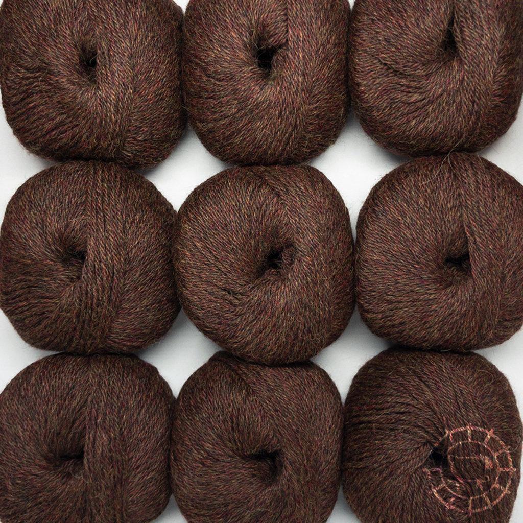 «Woolpack Yarn Collection» Baby Alpaca DK – Marron, colorisation limitée