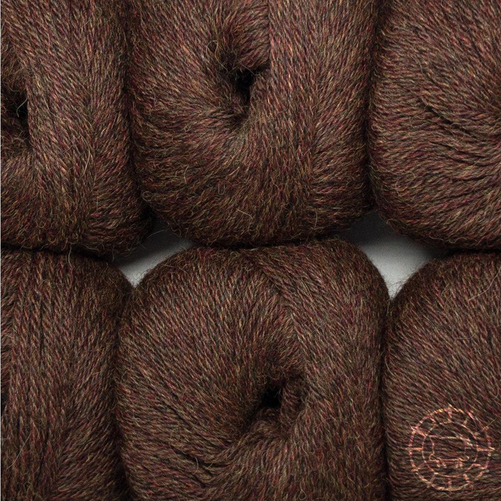 «Woolpack Yarn Collection» Baby Alpaka DK – Braun, limitierte Farbe