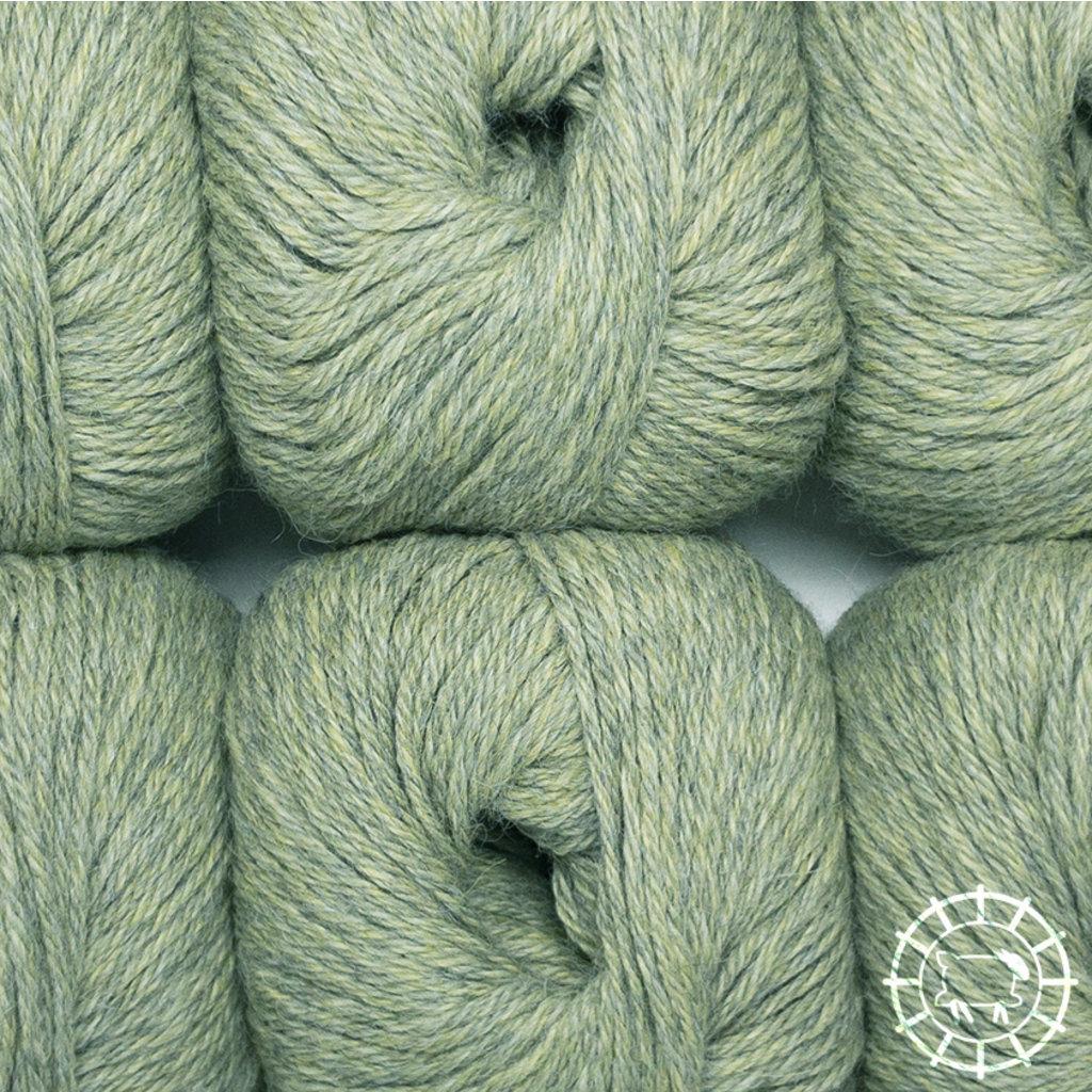 «Woolpack Yarn Collection» Baby Alpaca DK – Vert de gris, colorisation limitée