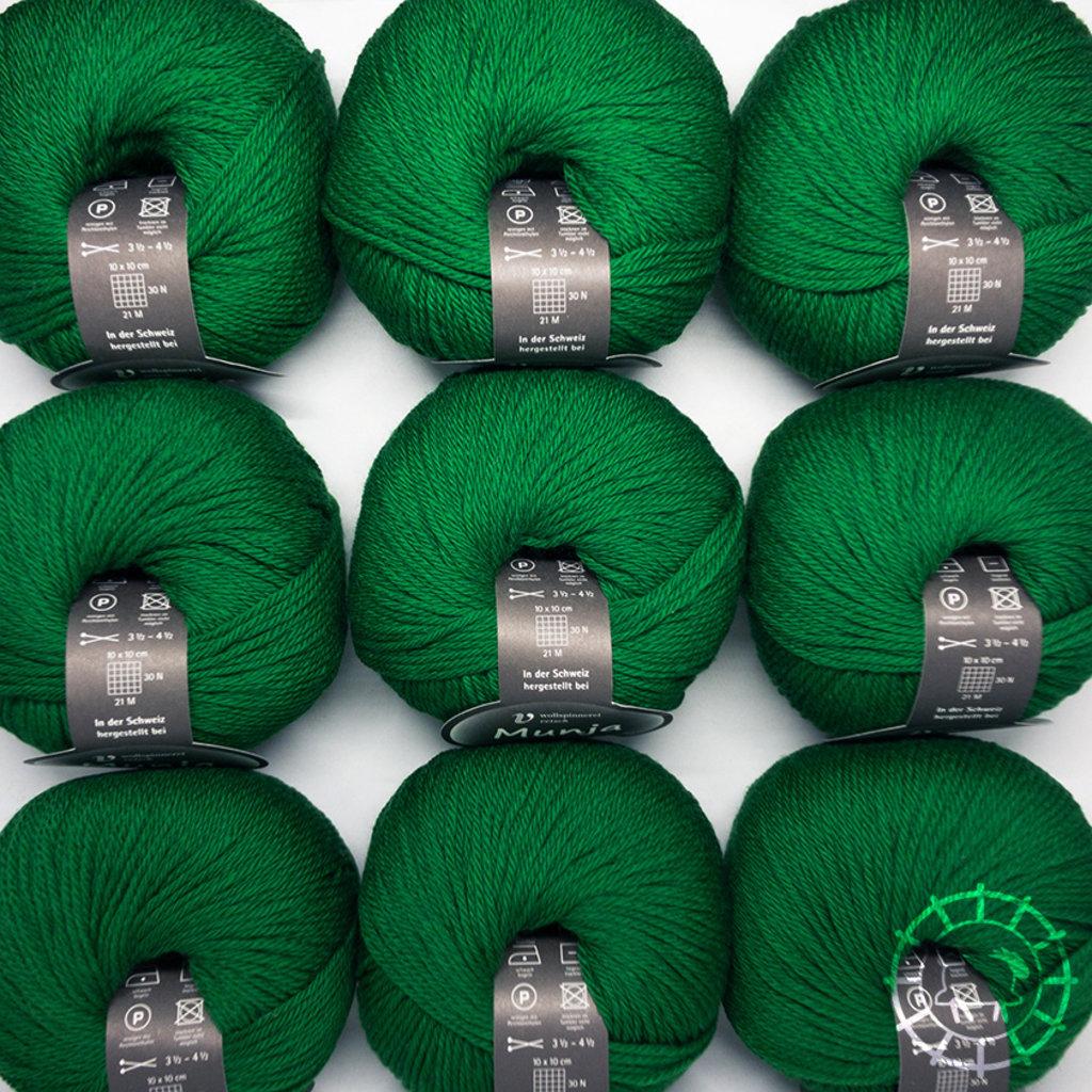 «Wollspinnerei Vetsch» Munja – Grün