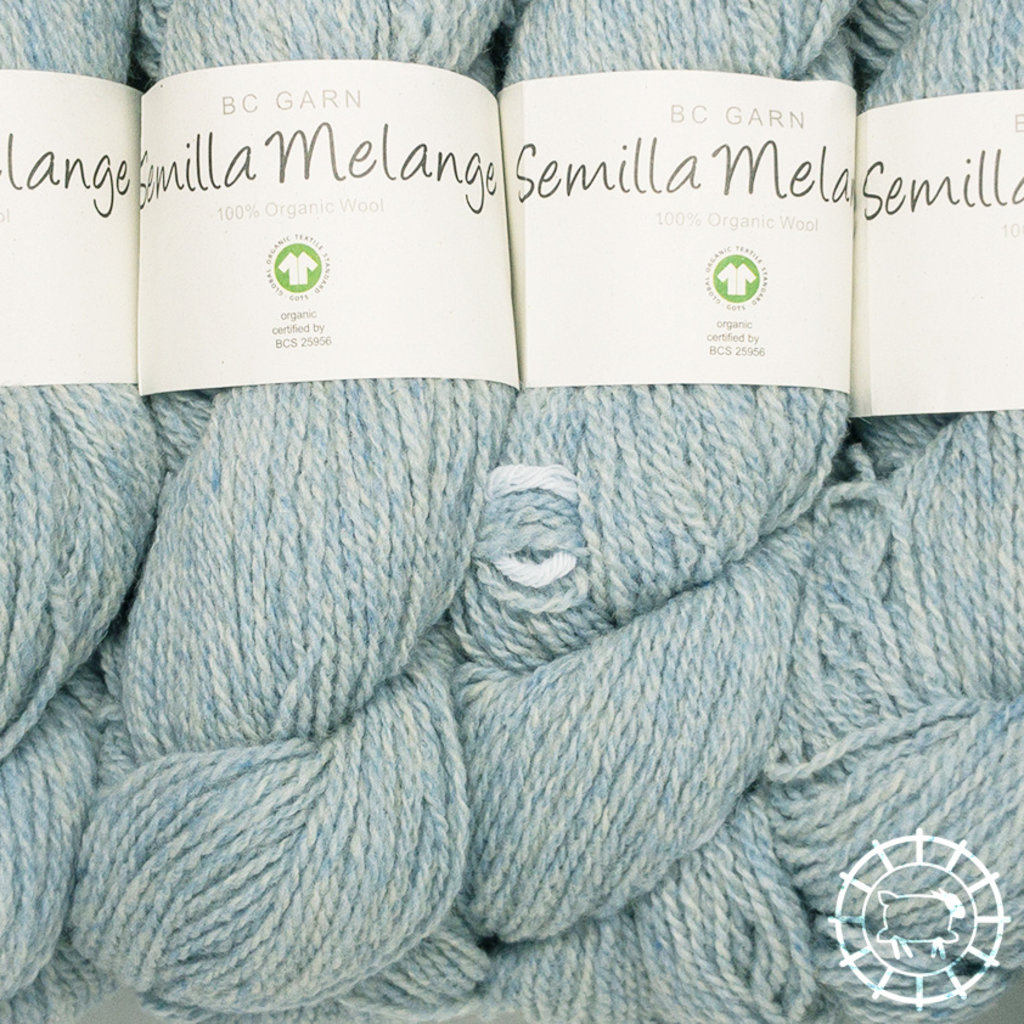 «BC Garn» Semilla Melange – Nebelblau