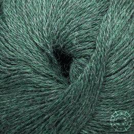 «Woolpack Yarn Collection» Baby Alpaca Fingering, chinée – Vert émeraude