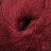 «Woolpack Yarn Collection» Baby Alpaka Fingering, meliert – Merlot