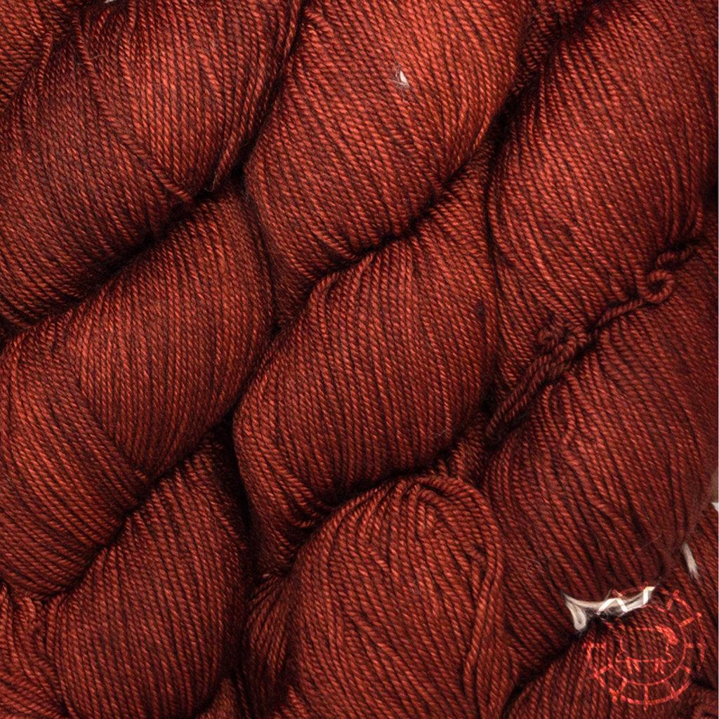 «Malabrigo Yarn» Sock – Botticelli Red, das Rot des Renaissancemalers