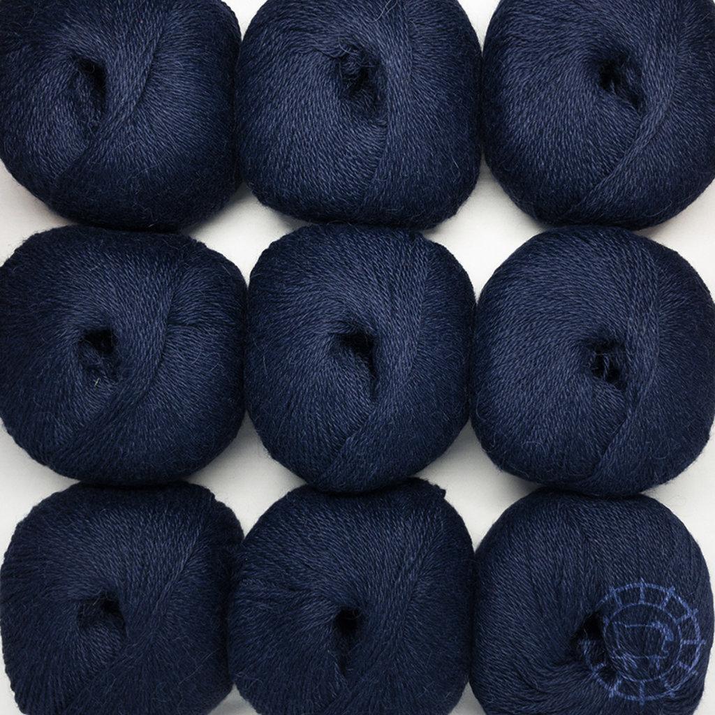 «Woolpack Yarn Collection» Baby Alpaka Fingering, Nachtblau