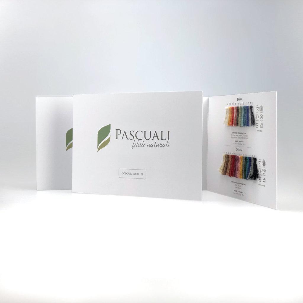 «Pascuali» – filati naturali Colour Book 4 – «Nepal», «Re-Jeans», «Suave»
