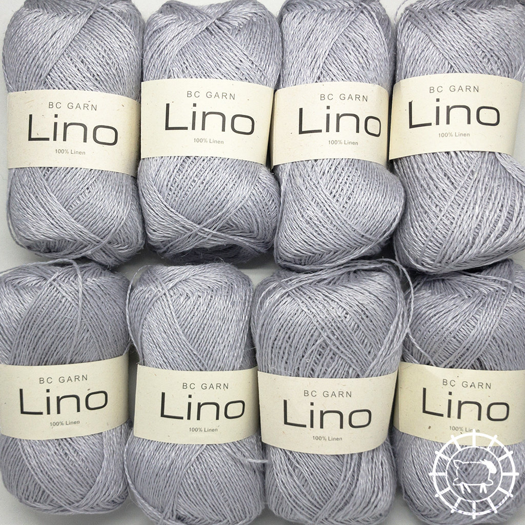 «BC Garn» Lino – Silbergrau