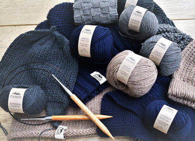Les fils en laine de cachemire
