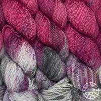 «Pascuali» – filati naturali Balayage – Inka, handgefärbt