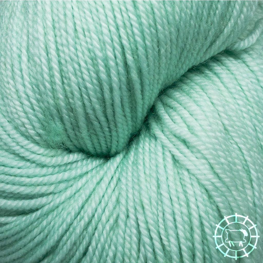 «Malabrigo Yarn» Sock – Water Green, ein duftiges Grünchen