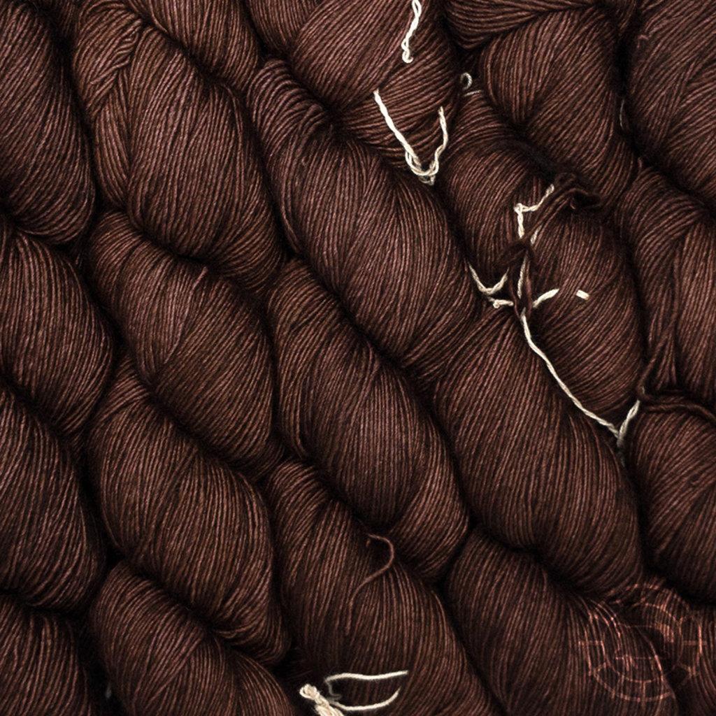 «Malabrigo Yarn» Lace – Marron Oscuro, tiefbraun