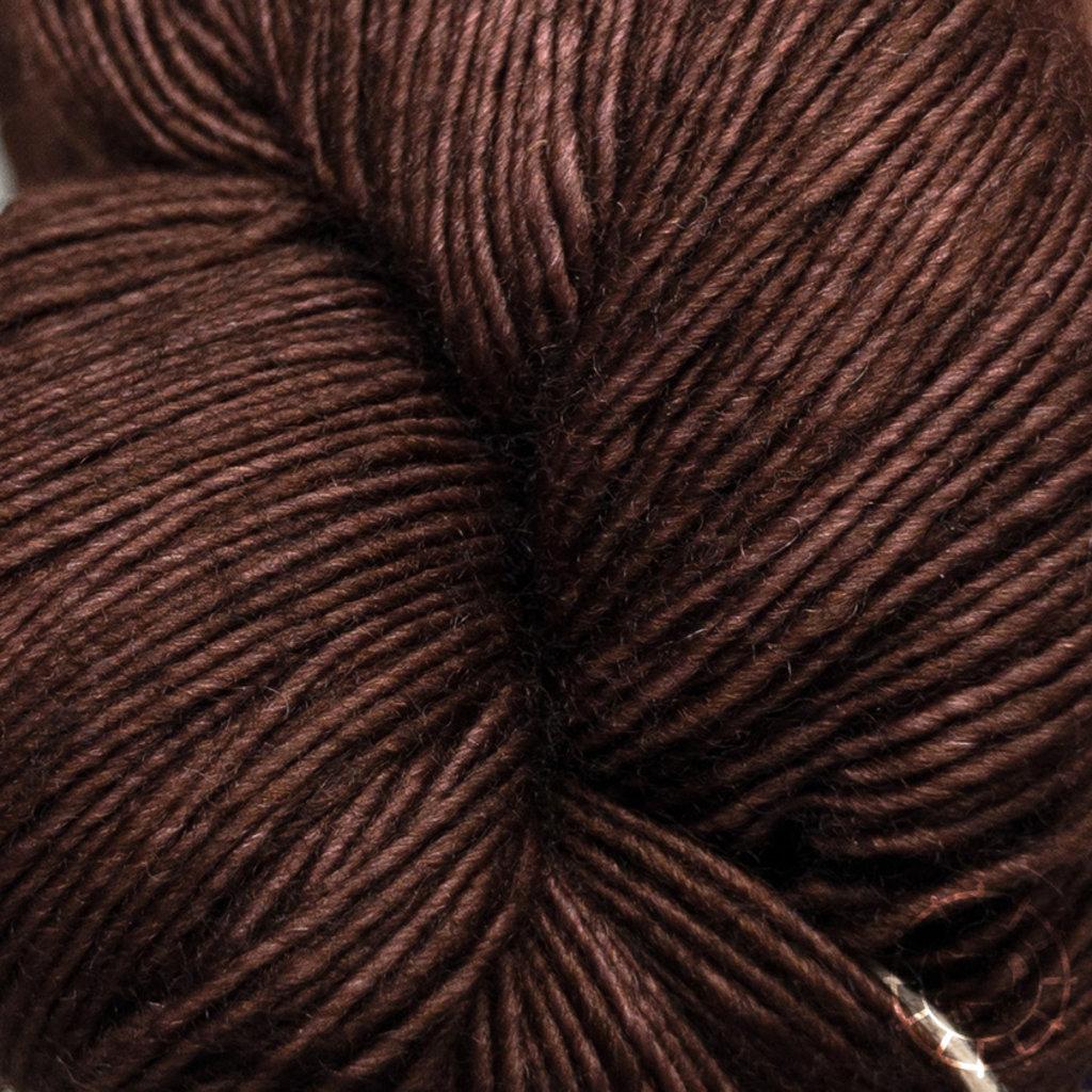 «Malabrigo Yarn» Lace – Marron Oscuro