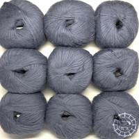 «Pascuali» – filati naturali Suave – Taubenblau