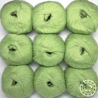 «Pascuali» – filati naturali Suave – Hellgrün