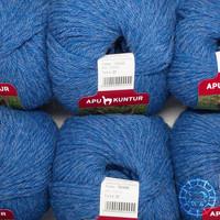 «Apu Kuntur» – Alpaca. Our Passion. Alpaka Regular – Vergissmeinnicht