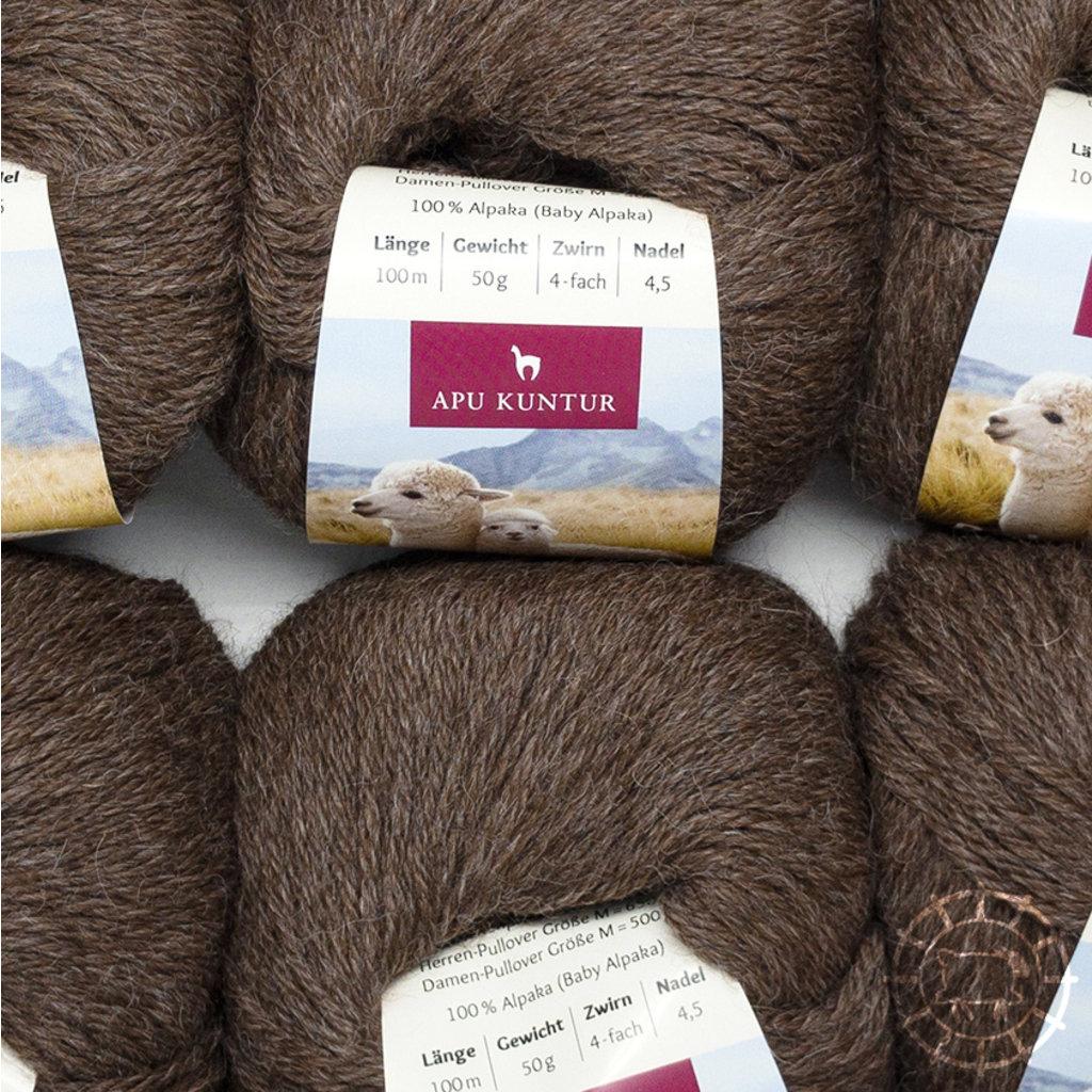 «Apu Kuntur» – Alpaca. Our Passion. Alpaca Regular – Moka, non teinte