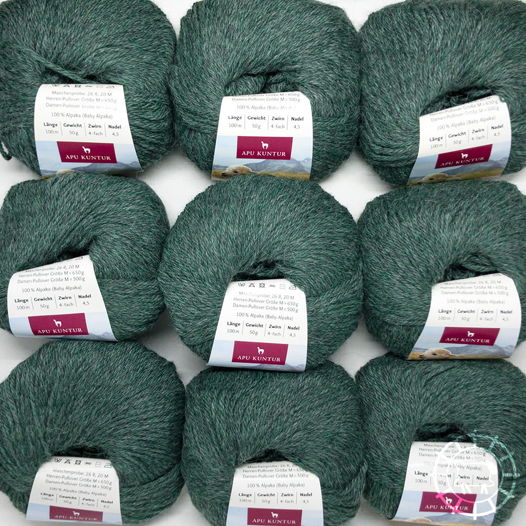«Apu Kuntur» – Alpaca. Our Passion. Alpaka Regular – Smaragd