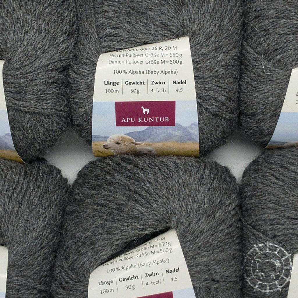 «Apu Kuntur» – Alpaca. Our Passion. Alpaka Regular – Dunkelgrau, ungefärbt