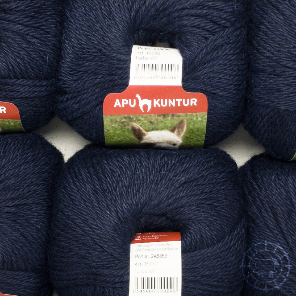 «Apu Kuntur» – Alpaca. Our Passion. Alpaka Regular – Nachtblau
