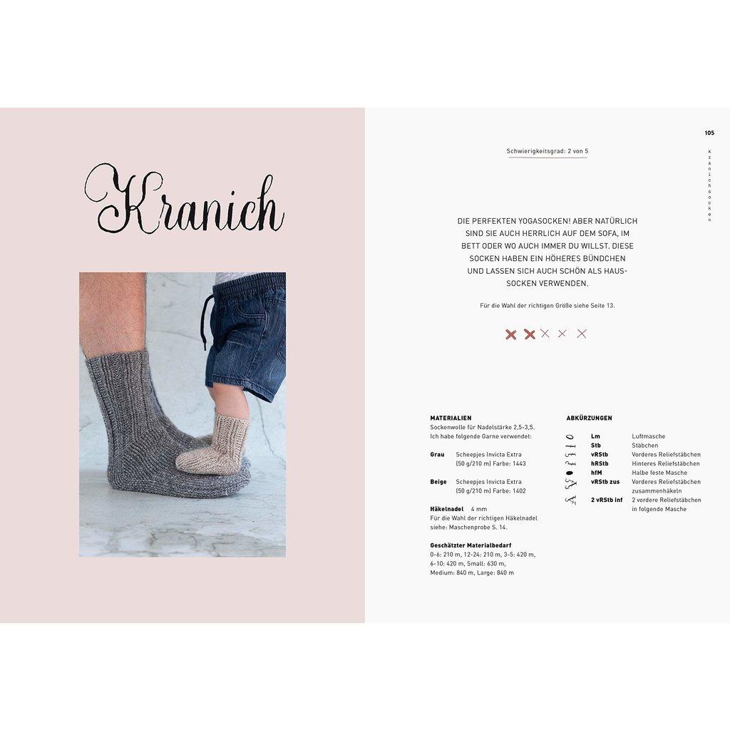 Socken häkeln – für die ganze Familie
