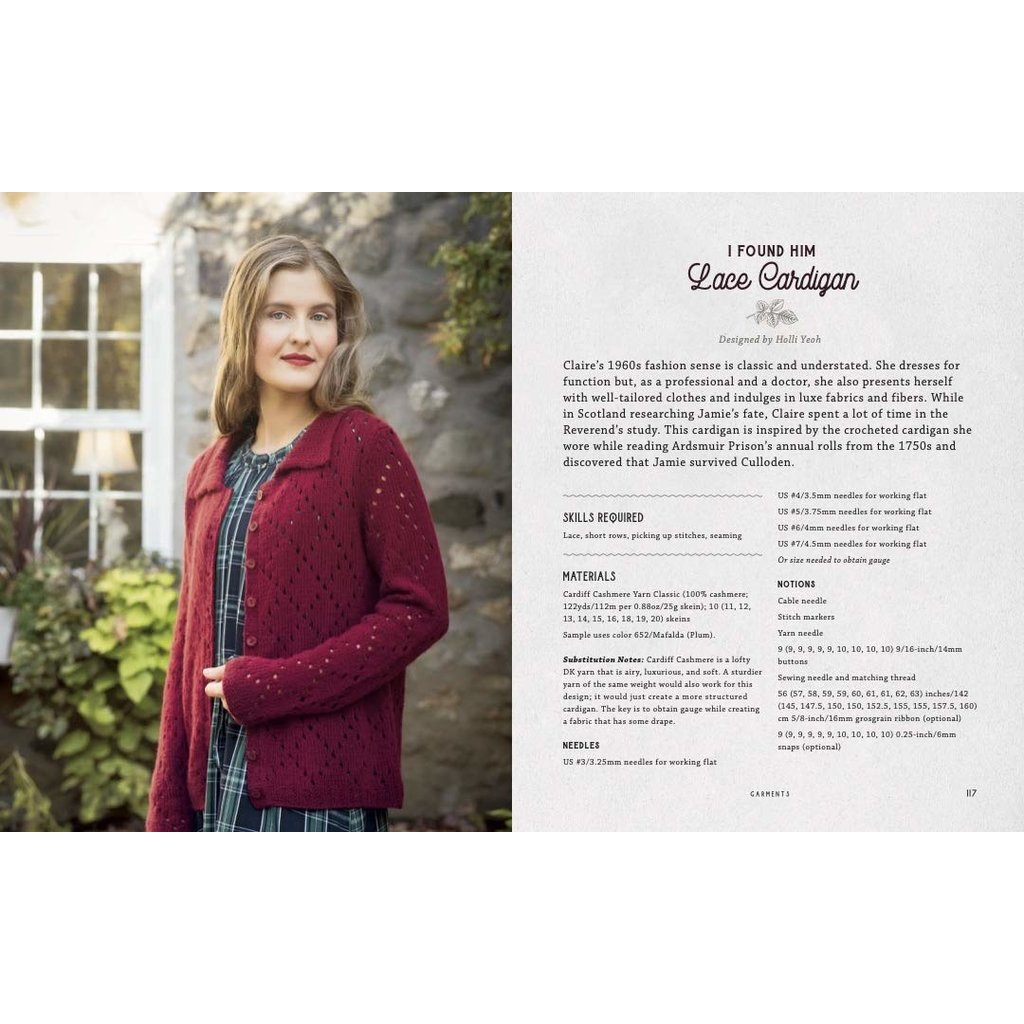 Outlander Knitting – The Official Book of 20 Knits