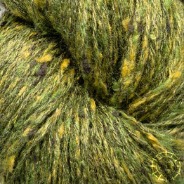«BC Garn» Tussah Tweed – Vert du forêt