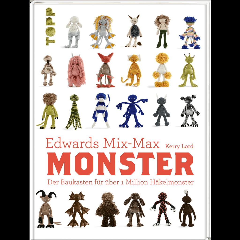 Edwards Mix-Max Monster – der Baukasten für über 1 Million Häkelmonster