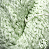 «Kremke Soul Wool» – Seelenwolle «Andean Mist Cotton Flammé» – Apple Mist