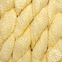 «Kremke Soul Wool» – Seelenwolle «Andean Mist Cotton Flammé» – Banana Cream