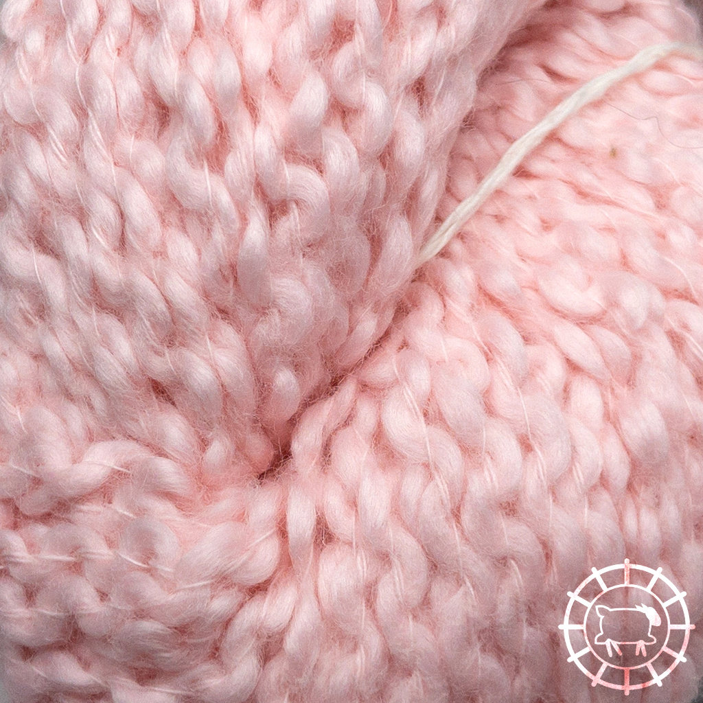 «Kremke Soul Wool» – Seelenwolle «Andean Mist Cotton Flammé» – Cotton Candy