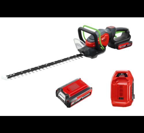 Henx Garden 40V Hedgetrimmer + 5.0 Battery & Quick charger