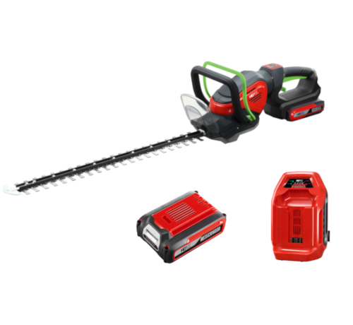 Henx Garden Taille-haie 40V + Batterie 5.0 & Chargeur rapide