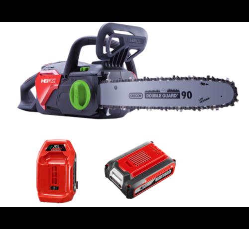 Henx Garden HENX 40 Volt Li-ion Chainsaw + 5.0 Battery & Quick charger